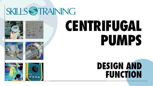 Centrifugal Pumps: Design & Function