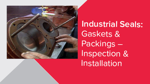 Industrial Seals: Gaskets & Packings – Inspection & Installation
