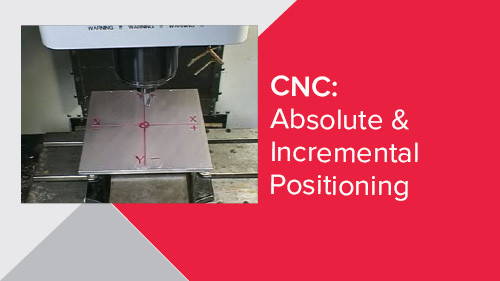 CNC: Absolute & Incremental Positioning