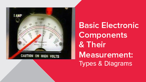 Basic Electronic Components & Their Measurement: Types & Diagrams