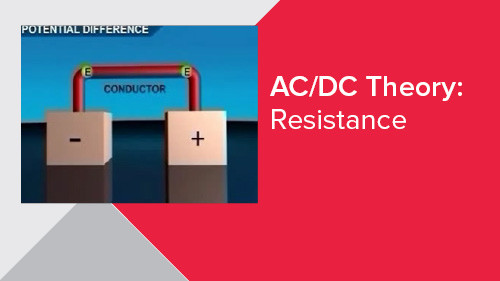 AC/DC Theory: Resistance