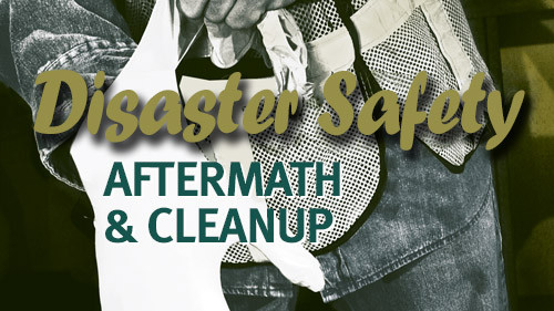 Disaster Safety : Aftermath & Cleanup