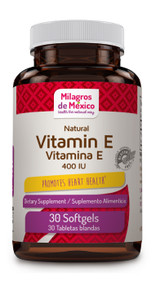 Vitamina E 400IU - 30ct