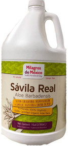 Savila Real - Aloe Gel, Gallon
