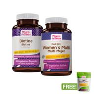 Combo Multi Women & Biotin