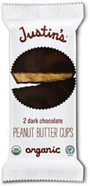 DARK CHOCOLATE PEANUT BUTTER CUPS - 12 pack