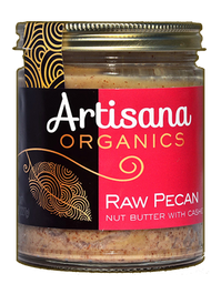 Pecan Butter (8oz)  Raw 100% Organic Pecan Butter
