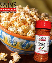 Spain's Gourmet Spicy Seasoning 5.1 oz - Gluten Free, Sugar Free, No MSG, No GMO