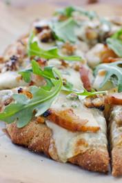 PEAR, WALNUT, BLUE CHEESE ARTISAN PIZZA