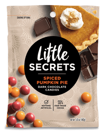 Little Secrets 5 oz Candies, 4 Pack (Peppermint Dark Chocolate)