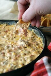 Cheesy Pimento Cheese Sausage Dip - includes 2 containers