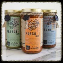 FUNDIDORA VARIETY PACK - 3 Salsa's
