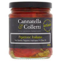 Roasted Sweet Ramiro Peppers in Oi - Cannatella & Colletti