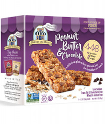 4.4.8 Peanut Butter & Chocolate Granola Bars