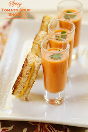 Spicy Tomato Soup Shots