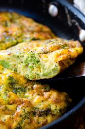 Delightful Broccoli Cheddar Frittata