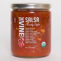 Organic Mild Smooth Salsa (Spicy Chunky Style)