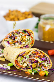 Thai Peanut Wraps