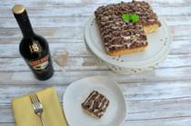 NY Style Bailey's Irish Cream Crumb Cake