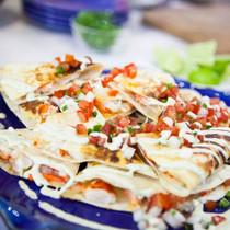 Lobster Quesadilla - includes 8 per tray