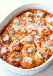 Chicken Enchilada Meatballs - 36 meatballs per tray