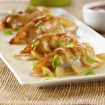 Teriyaki Chicken Potstickers / Dumplings - 35 pieces per tray