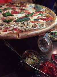 """Coal Oven Mushroom with White Truffle Oil 10"""" Pizza Pie - 2 pizza pies"""