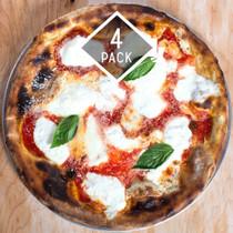 Coal Oven Margherita Pizza - 4 Pies
