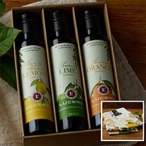 Citrus Trio Gift Box w/ SET OF FLOUR SACK TOWELS