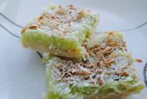 Key Lime Coconut Bars - One Dozen