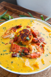 Cajun Sweet Potato Seafood Chowder - 1 quart