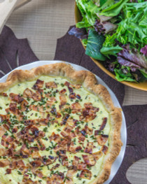 Nokkelost Cheese Quiche