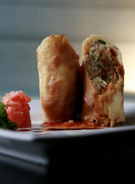 Peking Roasted Duck Spring Rolls - 50 pieces per tray