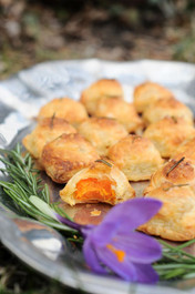 Sweet Potato Puff Pastry - 50 pieces per tray