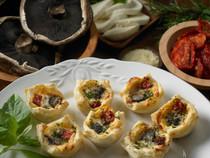 Portobello Mushroom Puffs - 25 pieces per tray