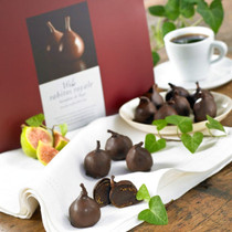 Rabitos - Chocolate Covered Figs With Truffle Liqueur- 16 piece box