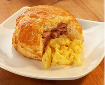 Egg, Ham & Cheese Buttermilk Biscuit - includes 24