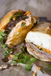 Lamb Bahn Mi Burgers