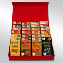 24 Bars of Chocolove xoxox Chocolate Bar Gift Set