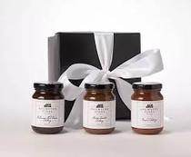 Chutney Gift Trio w/ Gift Box Black (5 oz jars) - Holmsted Fines
