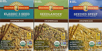 Organic Crispbreads Variety Pack, 3 Flavors, 7-ounces each (Pack of 3)