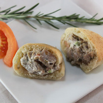 Roasted Lamb Gyros - 35 pieces per tray