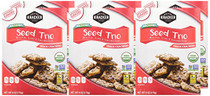Doctor Kracker Organic Snackers, Seed Trio, 6 Ounce (Pack of 6)