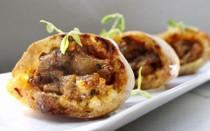 Chicken Balti Pita - 72 pieces per tray