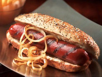 "Wagyu Beef Hot Dogs, Skinless, 6"" - 25 of 3.2 oz each"