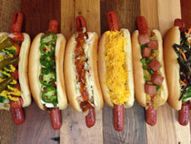 """Wagyu Beef Hot Dogs, 12"""" - 10 of 8 oz each"""