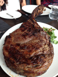 Wagyu Tomahawk Steak- includes 1