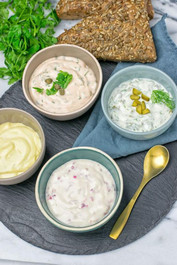 Super Simple Vegan Plant Based Seafood Dip