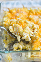 Greek Yogurt Macaroni and Cheese