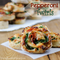 Pepperoni Twirls
